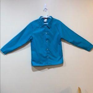 Boys button up long sleeve shirt